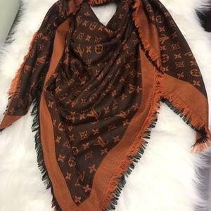 LV scarf/ shawl